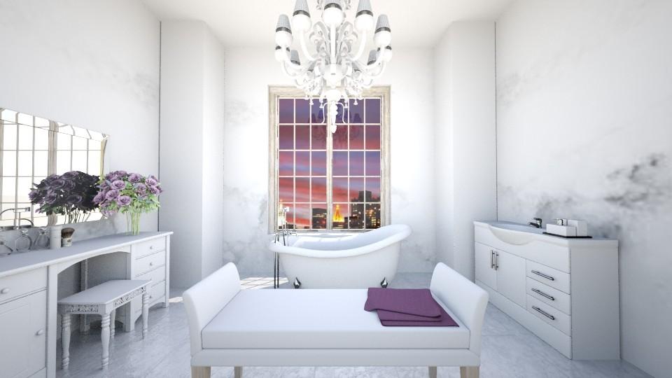 Glamour - Bathroom - by Roelanie