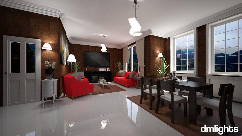 Silvia - Living room - by Roberta Bela