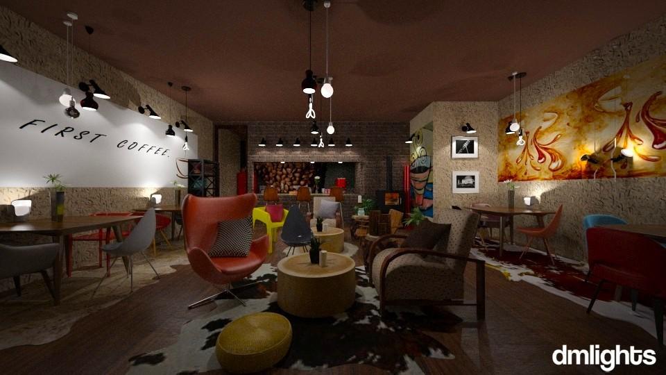 Coffee bar - by Mihailovikj Mimi