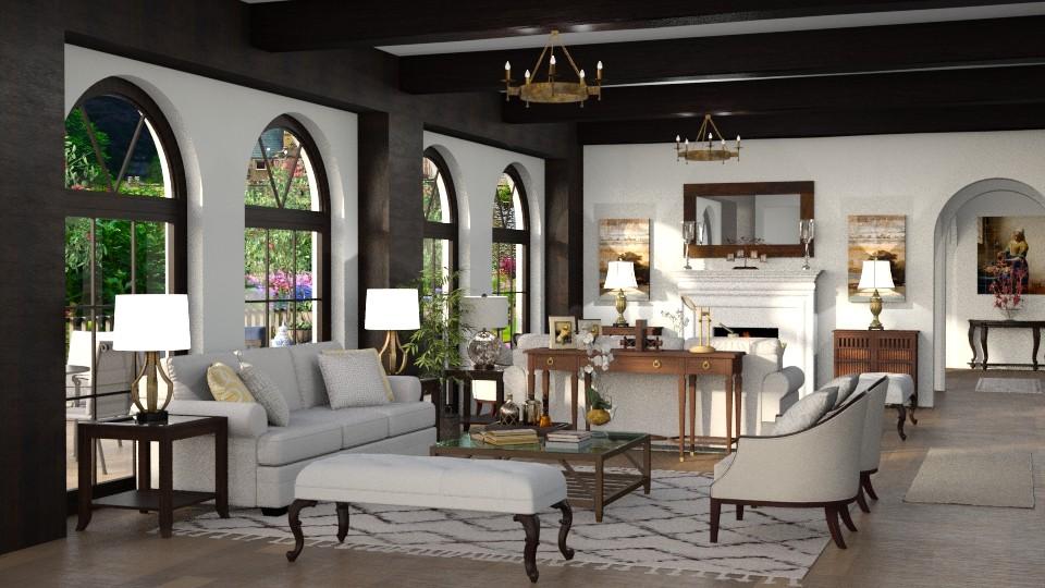 Santa Barbara Living - Living room - by Mariana Gooliveira