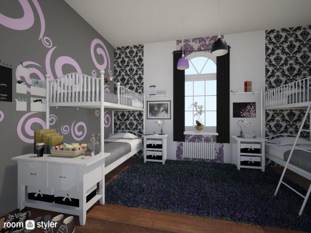 Boarding School Bedroom2 - Bedroom  - by SilentWaters