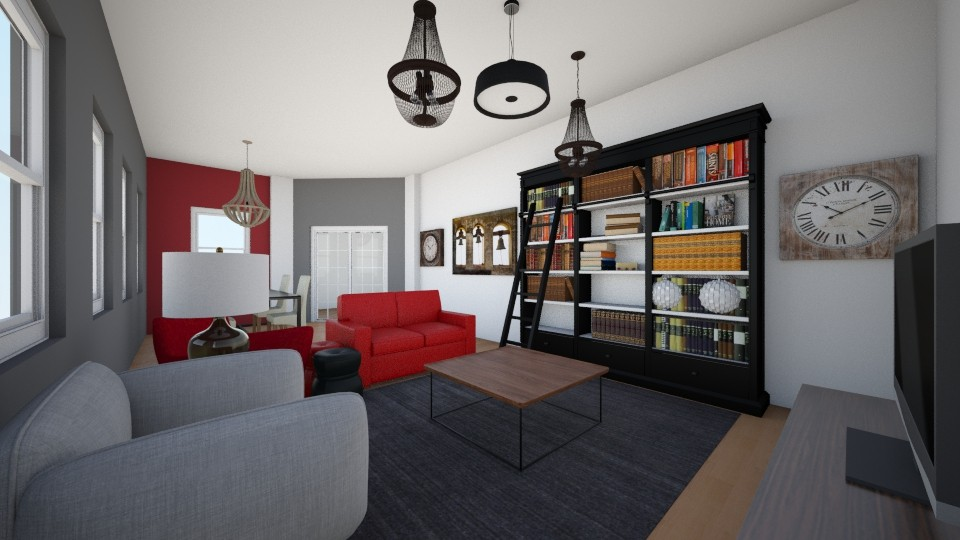 saloncio - Living room - by MarquiGames