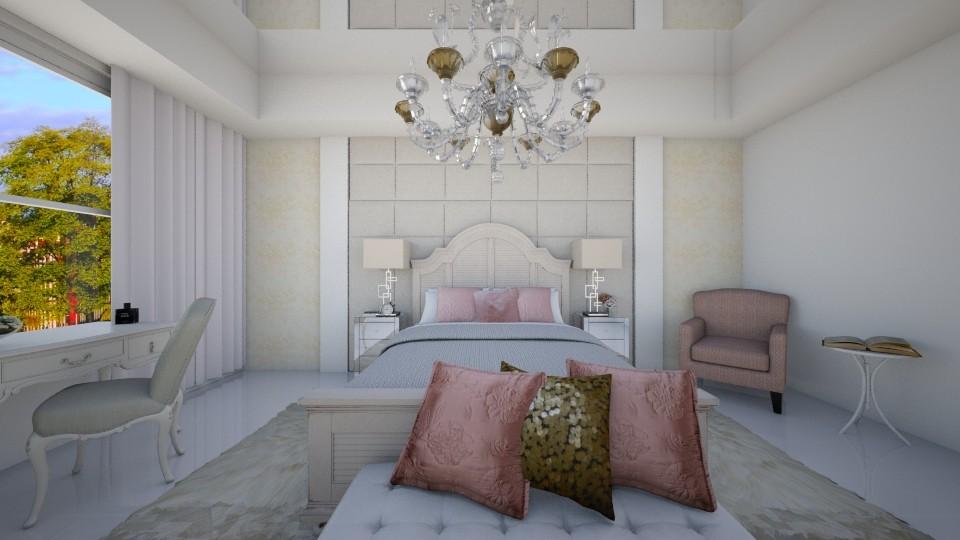 Quarto Amanda - Bedroom - by Natt Vasconcelos
