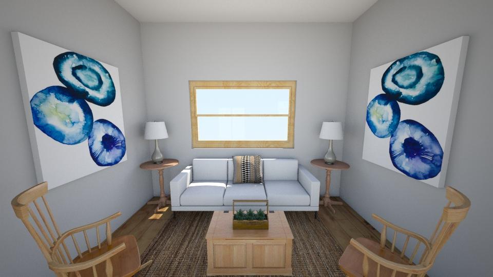 Rustic Living - Rustic - Living room - by grandplie