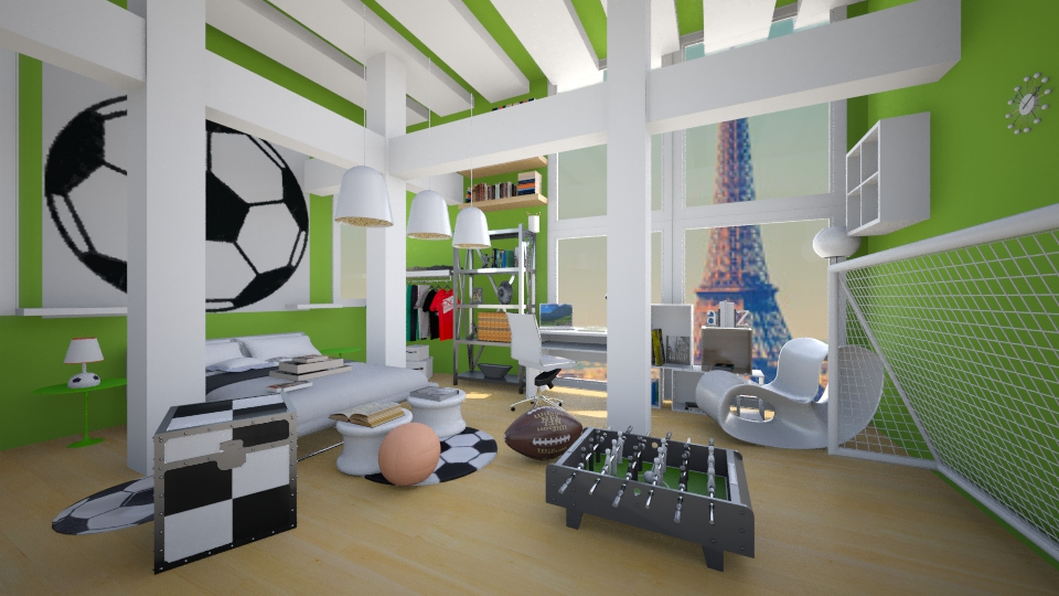 Foot ball - Modern - Kids room  - by christoforos