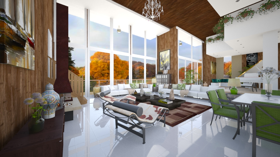 Anne - Living room  - by Roberta Coelho
