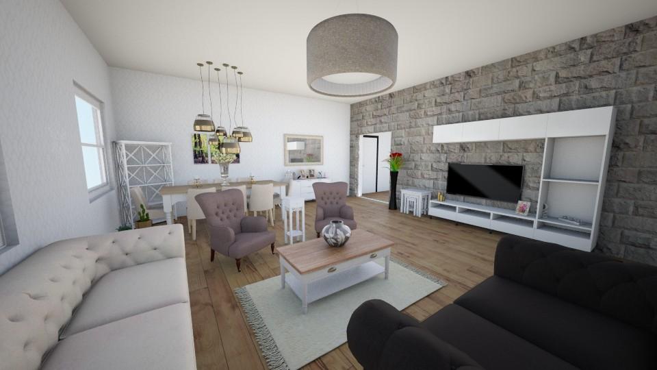 Salonum3 - Modern - Living room - by Ebru Tekneci