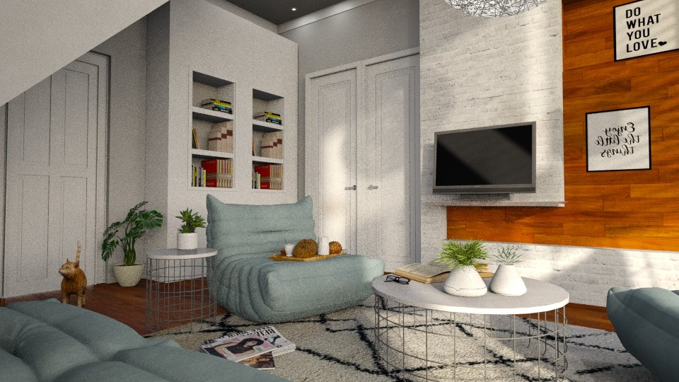 Blue - Living room - by Alda Neziri