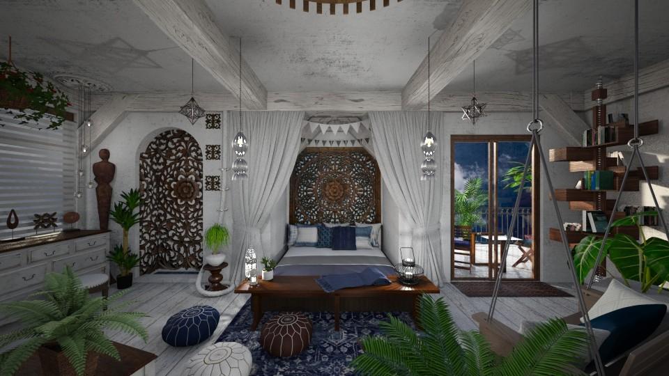 Modern Bohemian Bedroom - Bedroom - by AlocinB