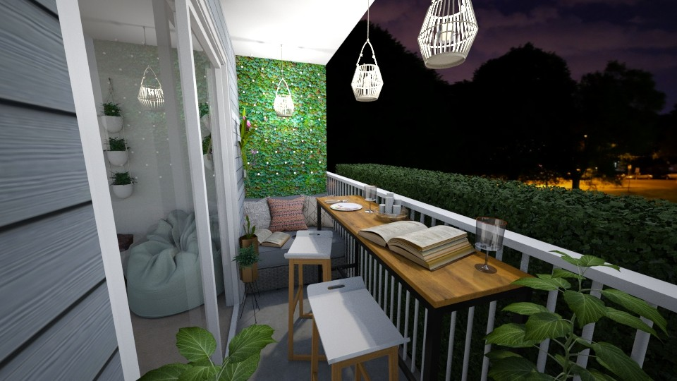 The Bend Patio - Garden - by BriaFaith