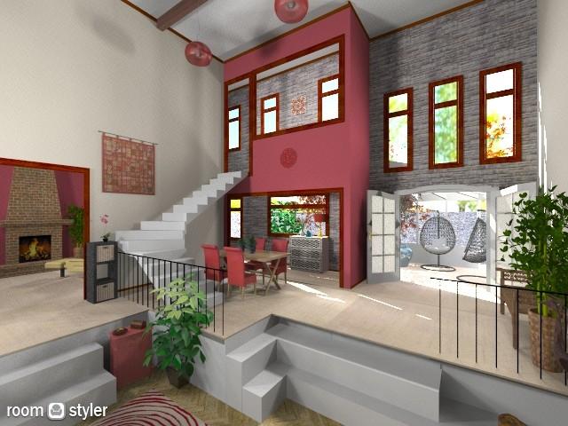 bright split level - Living room - by Oftheyear18