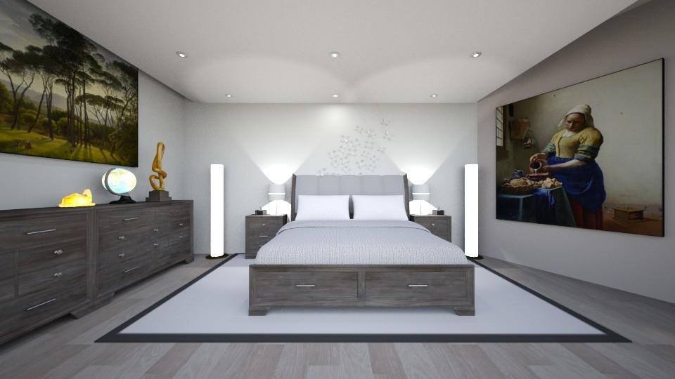 Schlafraum - Bedroom  - by Ropertz Raumdesign