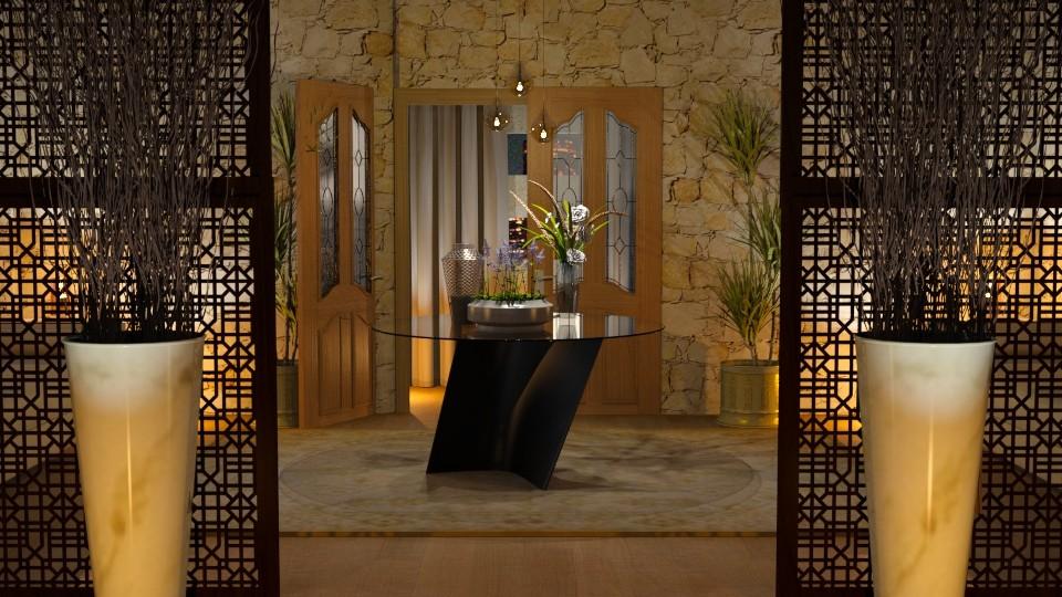 Entrance Corridor - Living room - by Mariana Gooliveira