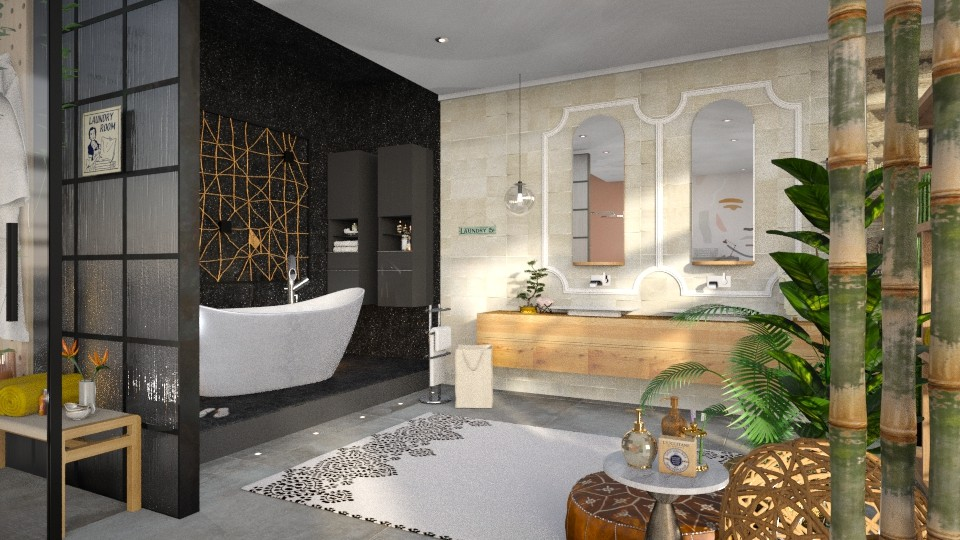 Bathroom Eclectic  - Bathroom - by Gwenda van Maaren