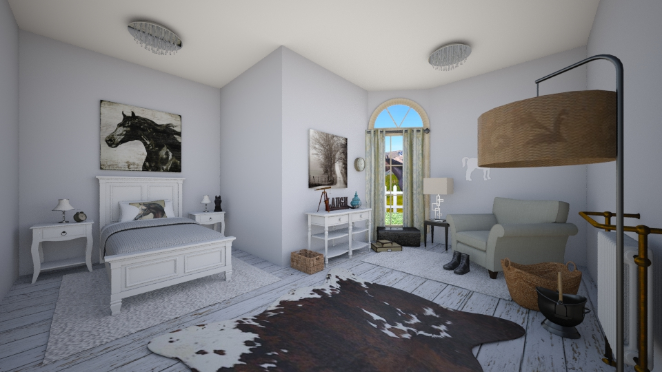 Getty up - Country - Bedroom - by megalia42