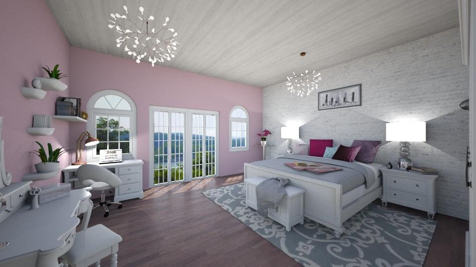 cute bedroom - by martynare3