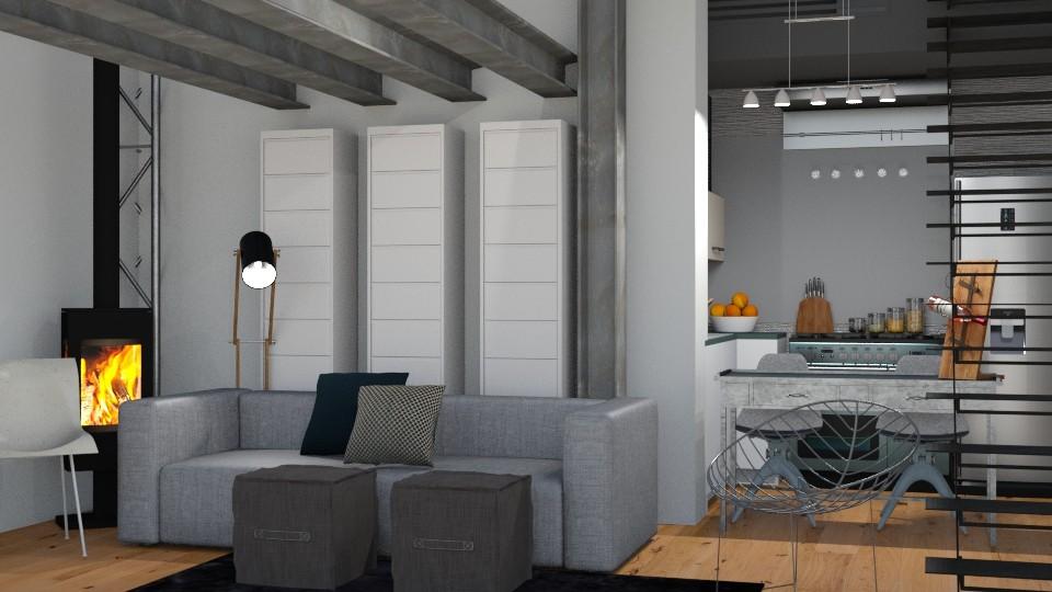 Man Den - Modern - Living room - by XiraFizade