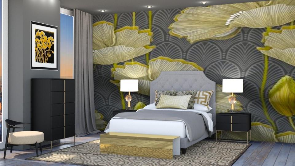 Poppy Bedroom - Bedroom - by jjp513