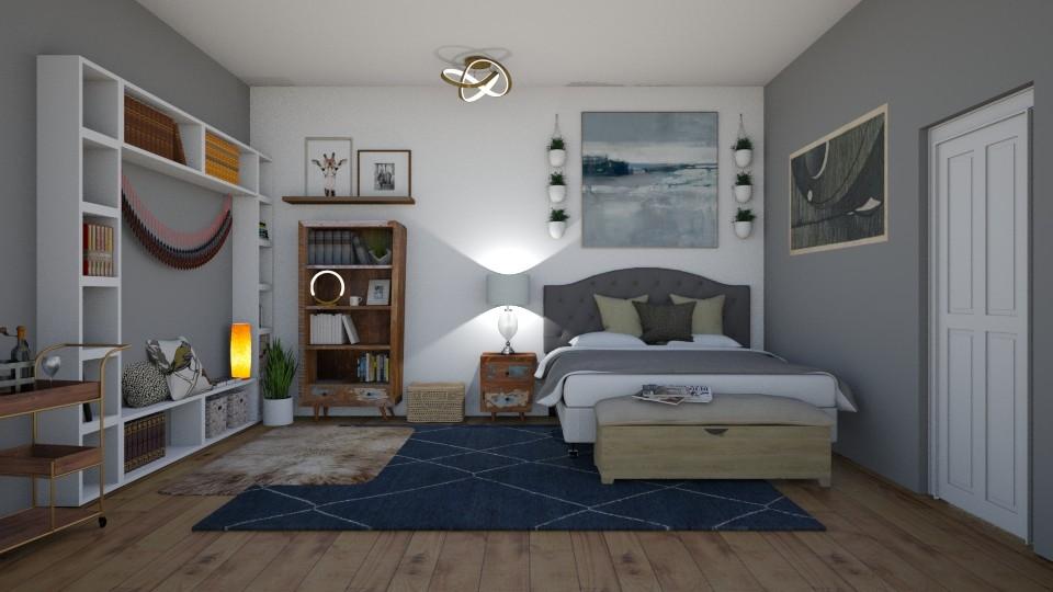 bo ho  - Bedroom - by thomanjenna