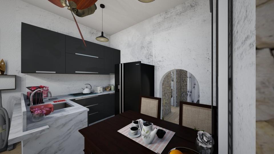 Apartemen2 - Kitchen - by Yuki Cu
