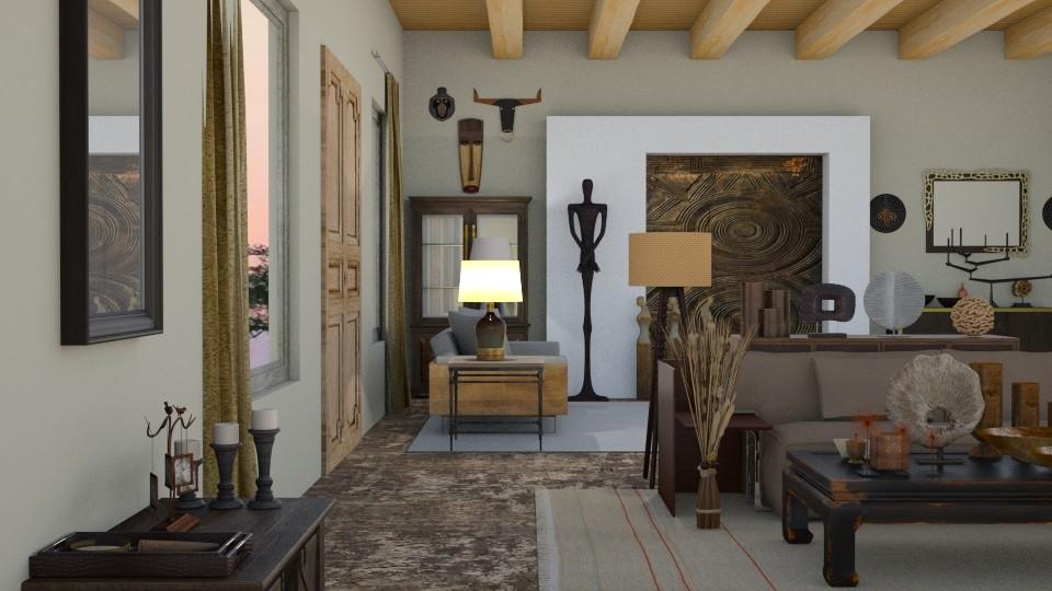 AFRICA  - Living room - by rebsrebsmmg