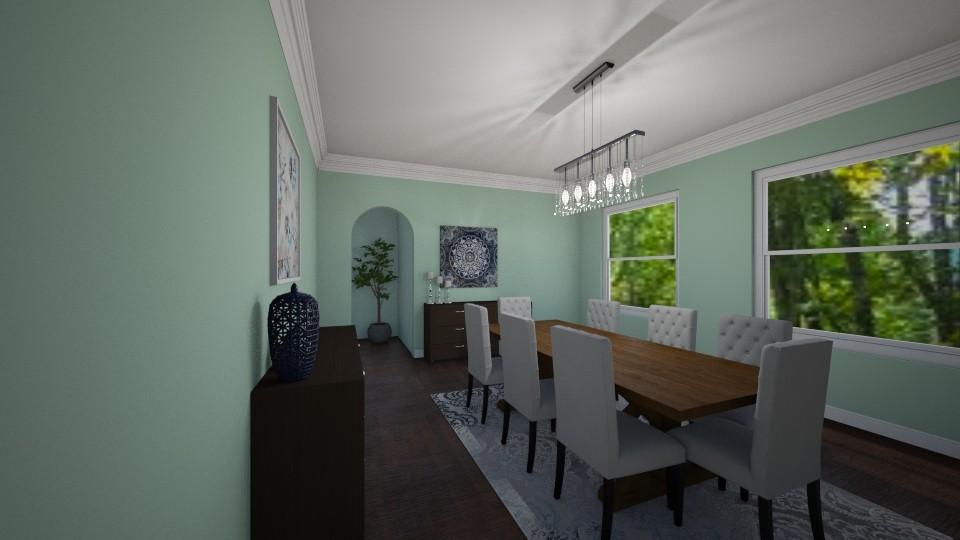 Dining Room - by Taisha Casimir