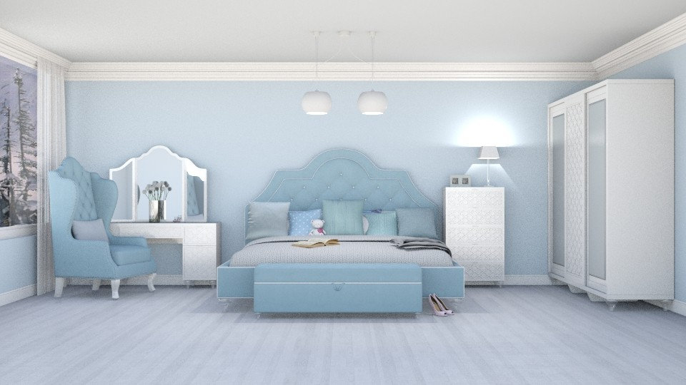 Moonlight Bay Crown - Bedroom - by creato