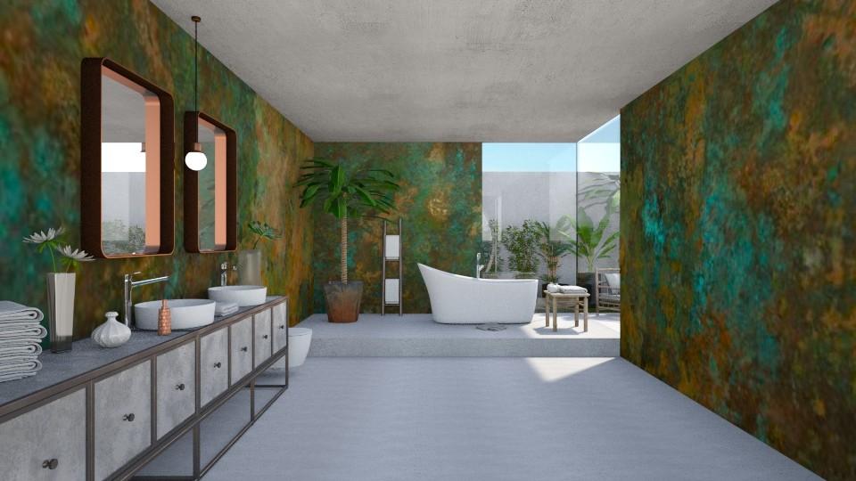 C and B Bath - Modern - Bathroom  - by Claudia Correia