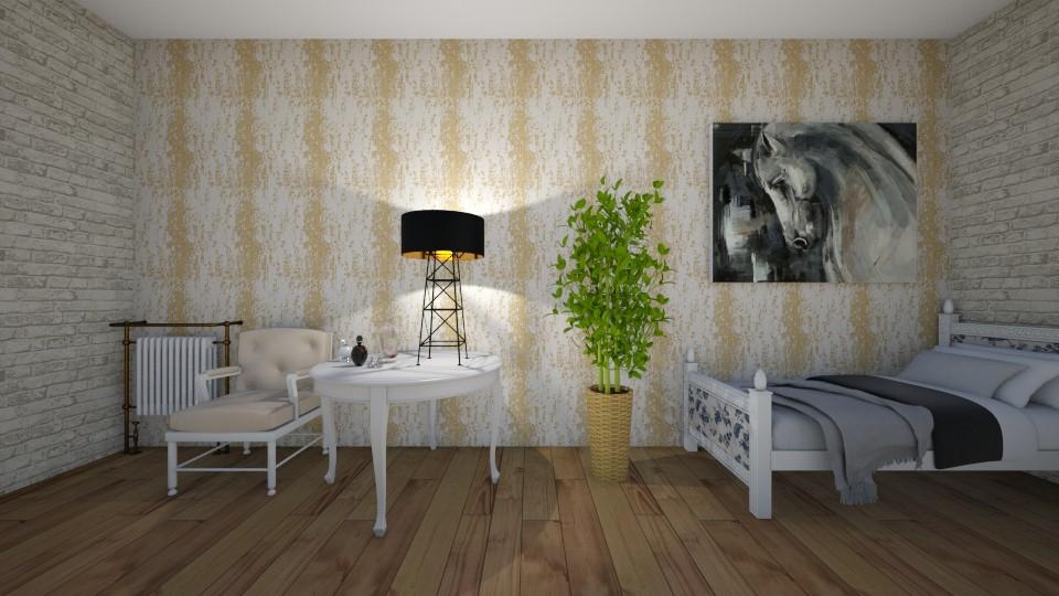 Attic Room - Bedroom - by YearOfTheDog
