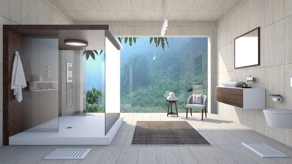 CLEAN STONE - Bathroom - by hannahglass