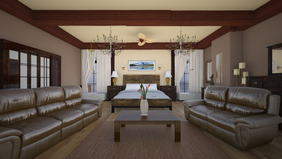 house - Bedroom - by Carlos Gonzalez_886