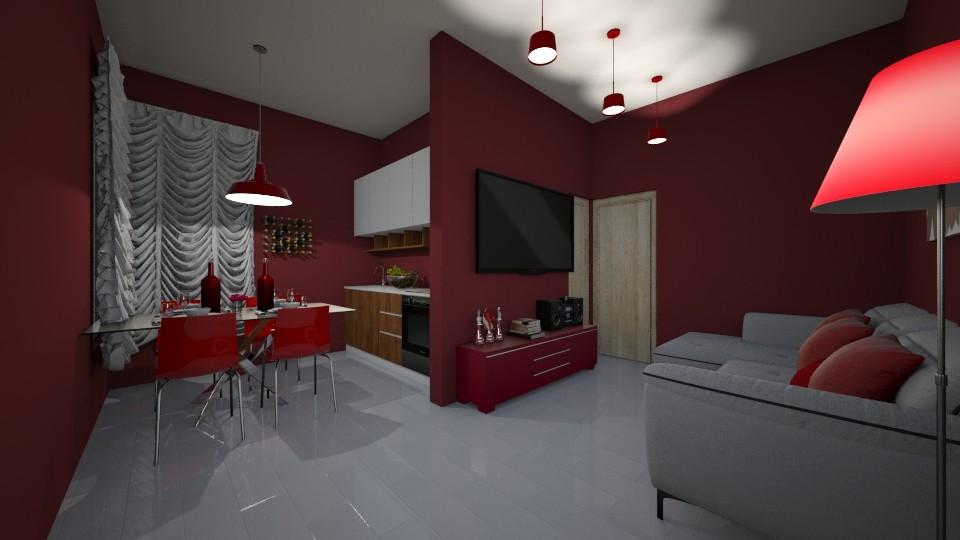 CASA DO GOVERNO VERMELHA  - Feminine - Living room  - by kelly lucena