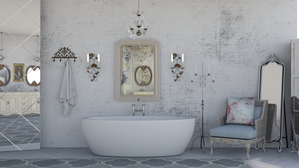 Shabby Chic Bath - Vintage - Bathroom - by jjp513