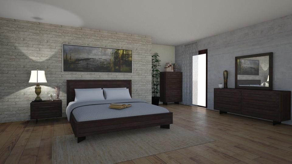 Bedroom - by AlinaZ