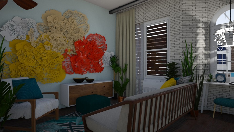 Pop Apartment - Living room - by _PeaceLady_