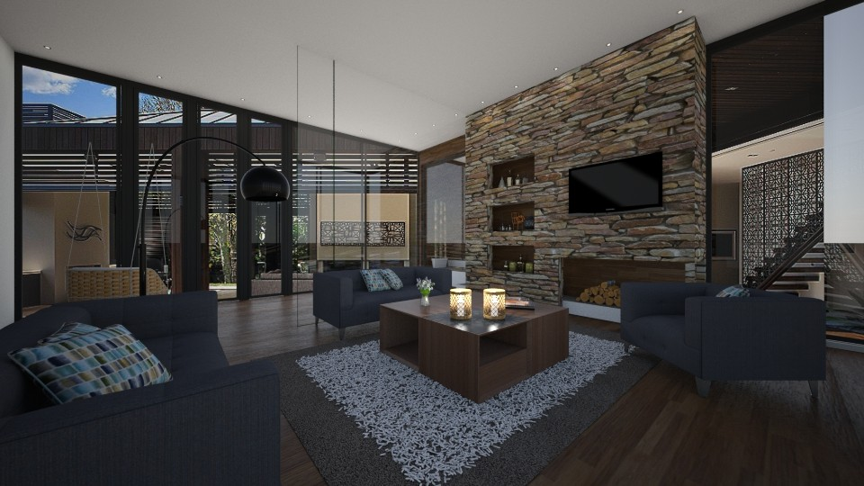 welcoming floorplan - Modern - Living room - by patriicia popa