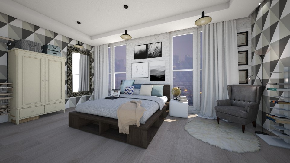686 - Bedroom - by Polya_Nikols