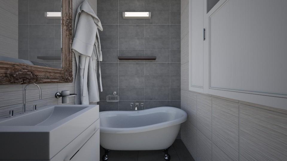 tiny bathroom - by martynare3