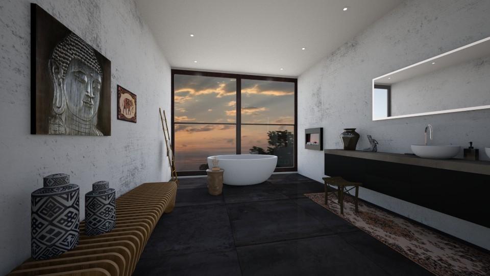 indian inspired  - Bathroom - by erladisgudmunds
