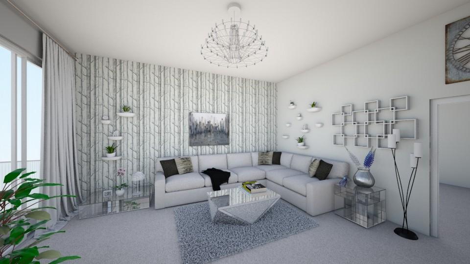 Living room - Modern - Living room - by Shelley_1