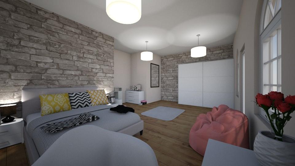 sypialnia - Bedroom  - by asiaaa111