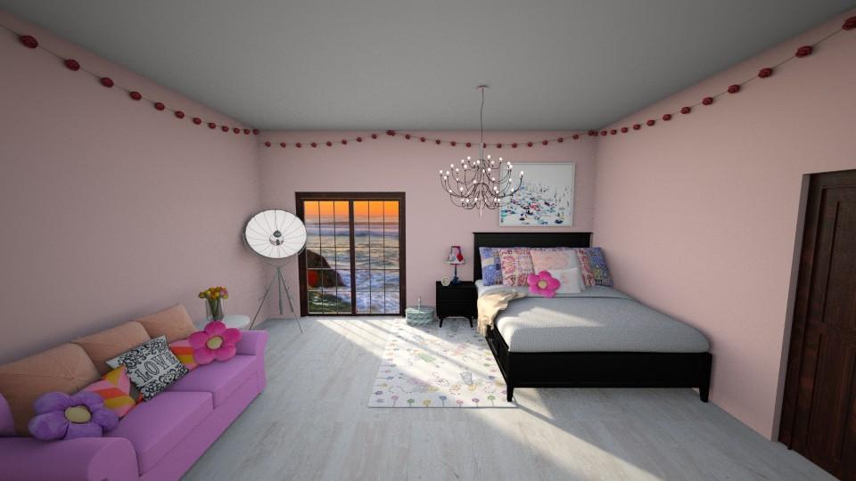 little girl bedroom - Feminine - Bedroom - by The vamps lover