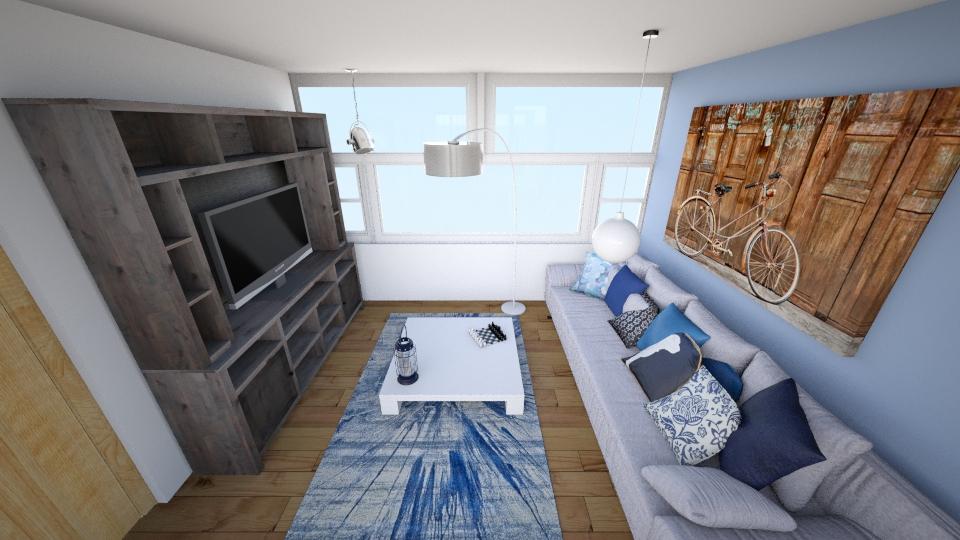 sala de estar  - Vintage - Living room - by Mariana Ortiz