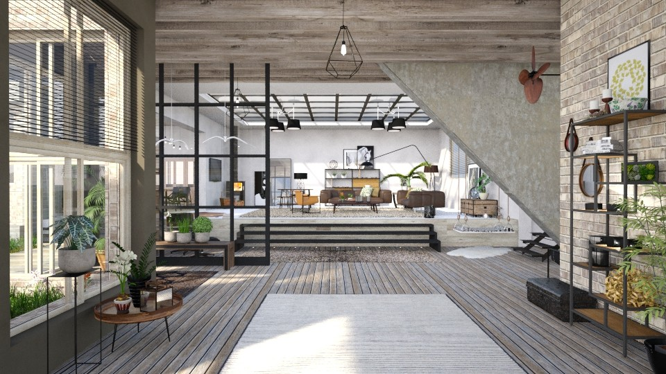 Lifestyle - Rustic - Living room - by evahassing