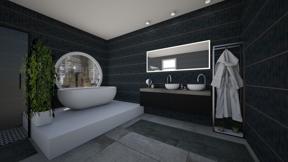 Green Bathroom - Modern - Bathroom - by Abracadabra