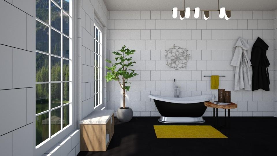 simple bathroom - by martynare3