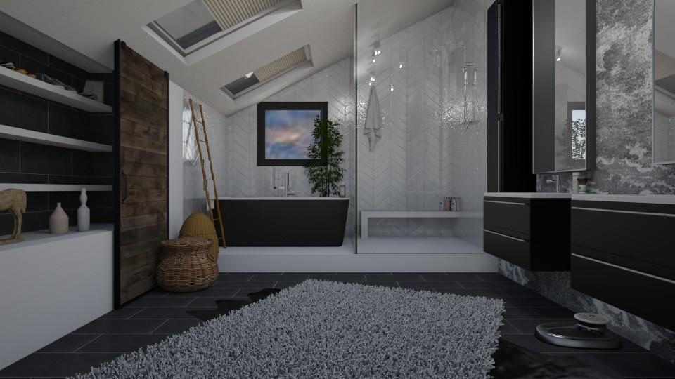Attic Bathroom - Bathroom - by aq123