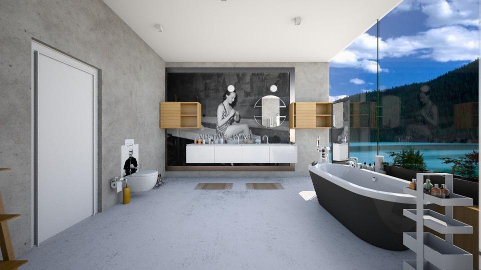 People in the shower - Bathroom  - by Orit Sander