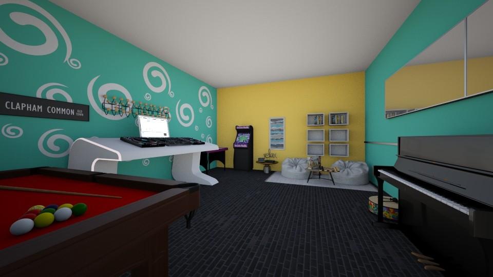 FUN ROOM  - Kids room  - by Clari24