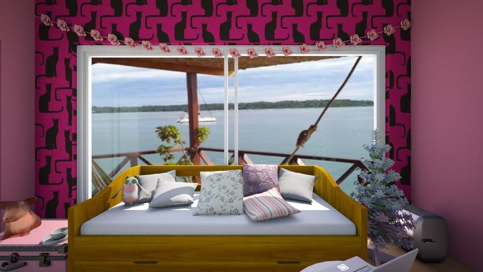 Pretty in Pink - Modern - Kids room - by hdricci01123890
